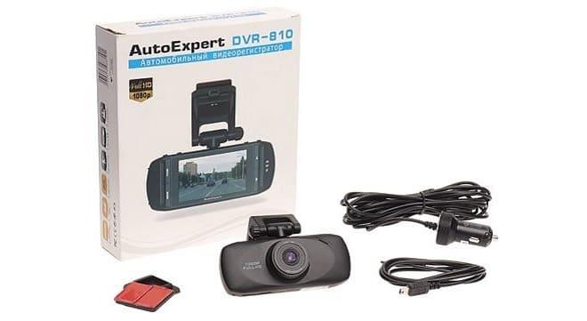 Комплектация AutoExpert DVR-810