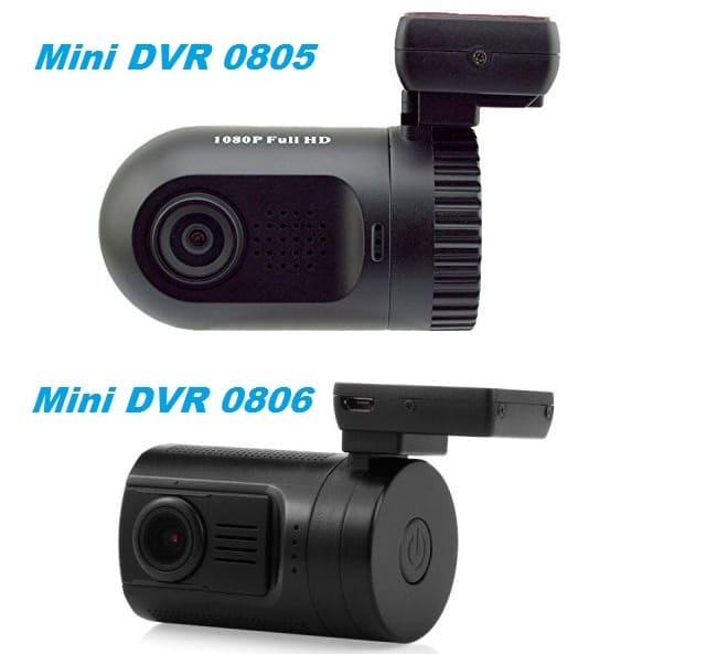 Видеорегистраторы Mini DVR