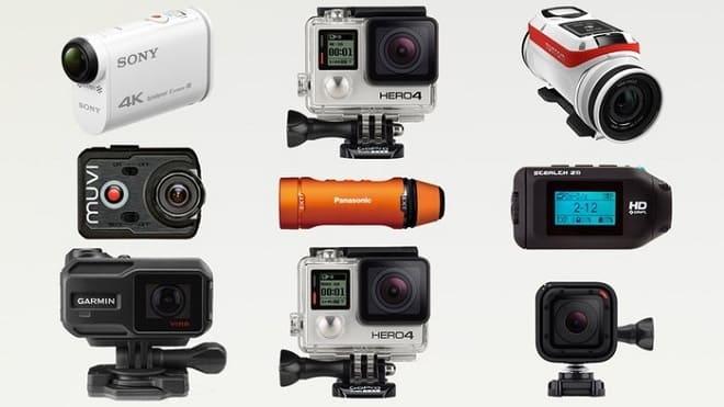 Экшн-камеры для мотоцикла