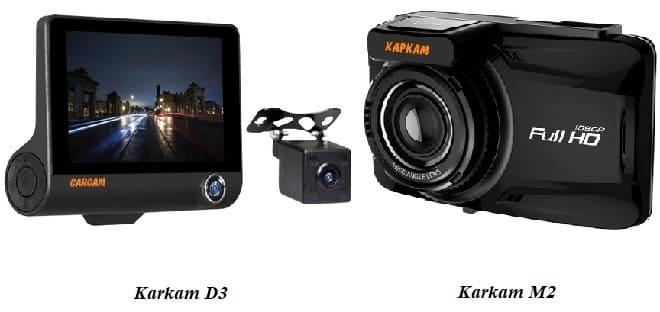 Видеорегистратор Каркам D3 и М2
