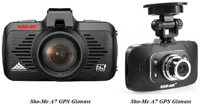 Видеорегистратор Sho-Me A7 GPS Glonass и HD 8000SX