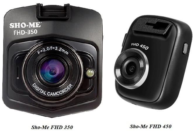 Видеорегистратор Sho-Me FHD 350 и 450