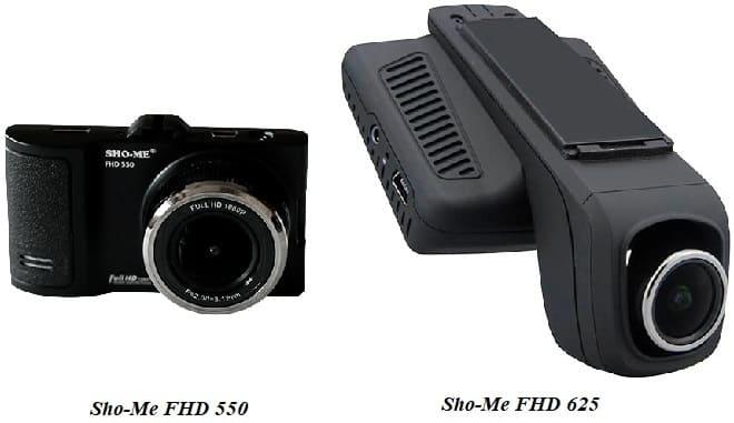 Видеорегистратор Sho-Me FHD 550 и 625