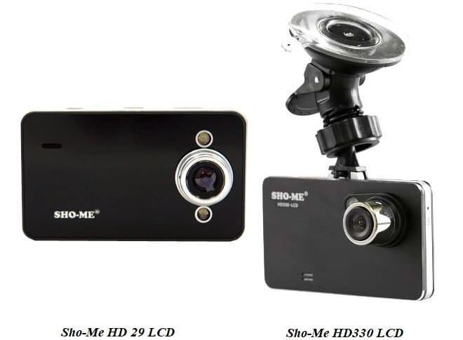 Видеорегистратор Sho-Me HD 29 LCD и HD330 LCD