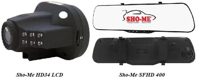 Видеорегистратор SHO-ME HD34 LCD И SFHD 400