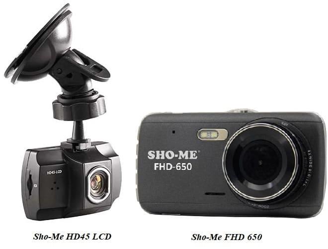 Видеорегистратор Sho-Me HD45 LCD и FHD 650