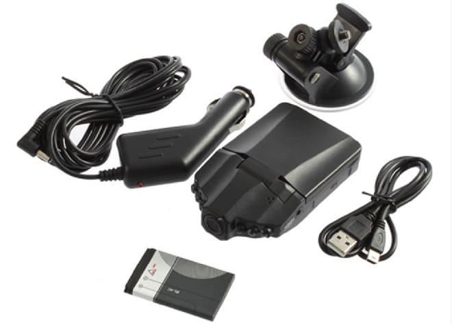 Комплектация видеорегистратора HD Smart