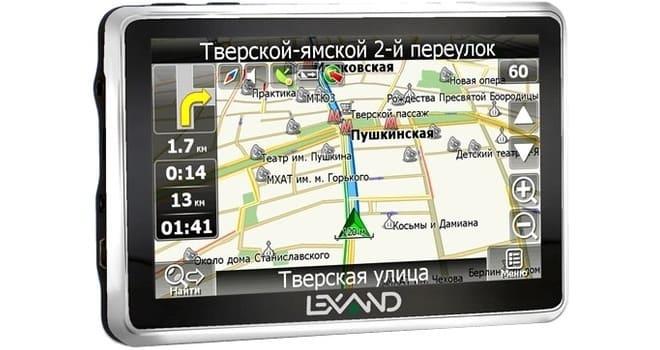 Видеорегистратор Lexand SR 5550 HD