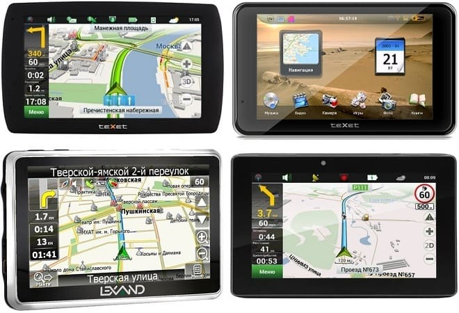 Видеорегистраторы с GPS-навигатором