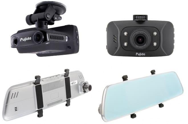 Видеорегистраторы Fujida Zoom 8 или Fujicar FC8 Plus