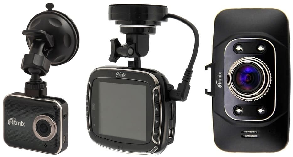 Видеорегистраторы Ritmix AVR-777, AVR-865, AVR-832