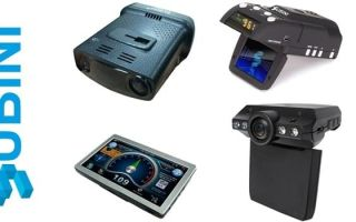 Популярные и новые видеорегистраторы Subini 3 в 1 с антирадаром и навигатором