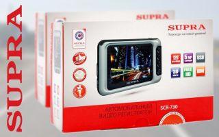 Обзор модельного ряда видеорегистраторов торговой марки Супра