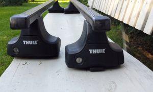 Thule Rapid System 754 – идеальные упоры для авто