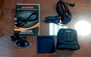 Отзывы об автомобильном видеорегистраторе Marubox M600R