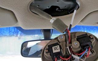 Как в машине подключить видеорегистратор без прикуривателя
