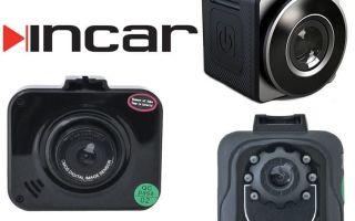 Обзор видеорегистраторов Incar VR
