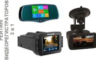 Рейтинг 2017 года: видеорегистраторы 3 в 1 с антирадаром и GPS