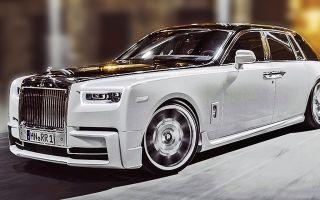 Самый длинный и роскошный Rolls-Royce