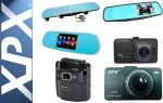 Лучшие модели видеорегистраторов XPX с Wi-Fi и камерой заднего вида