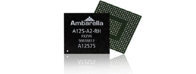 Процессор Ambarella Серия A12 S