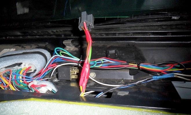 Провода под обшивкой