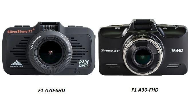 Видеорегистраторы F1 A70-SHD и F1 A30-FHD