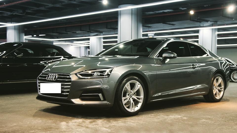 Audi A5 чёрный