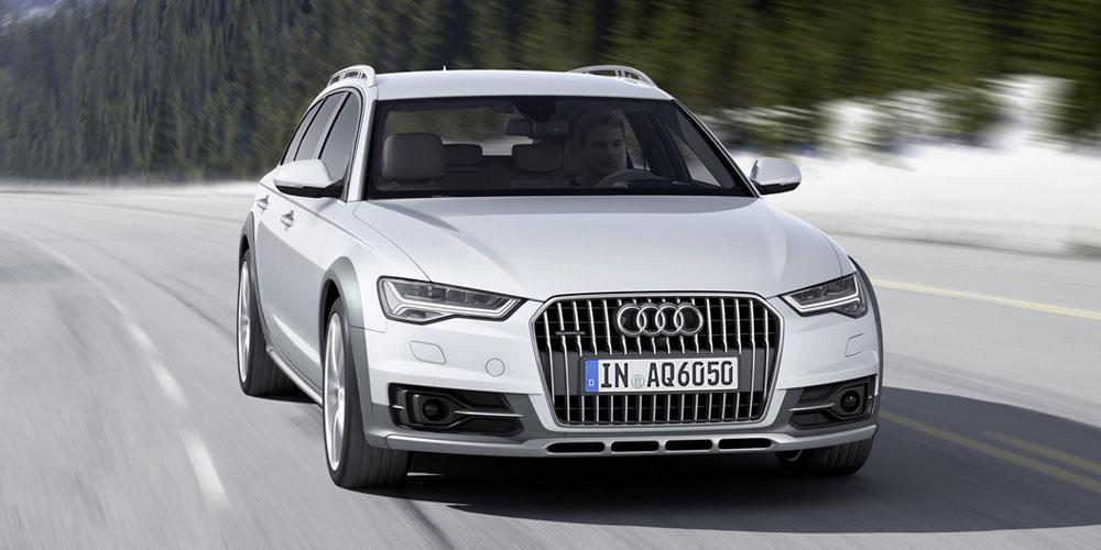 Audi Allroad Quattro спереди