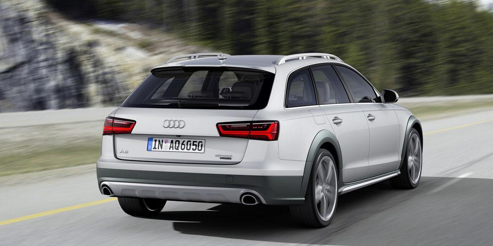 Audi Allroad Quattro сзади