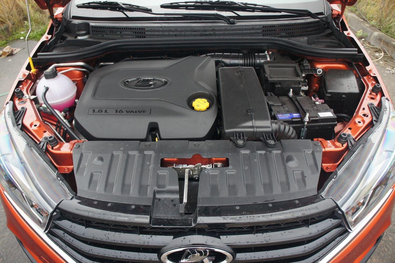 LADA Vesta двигатель