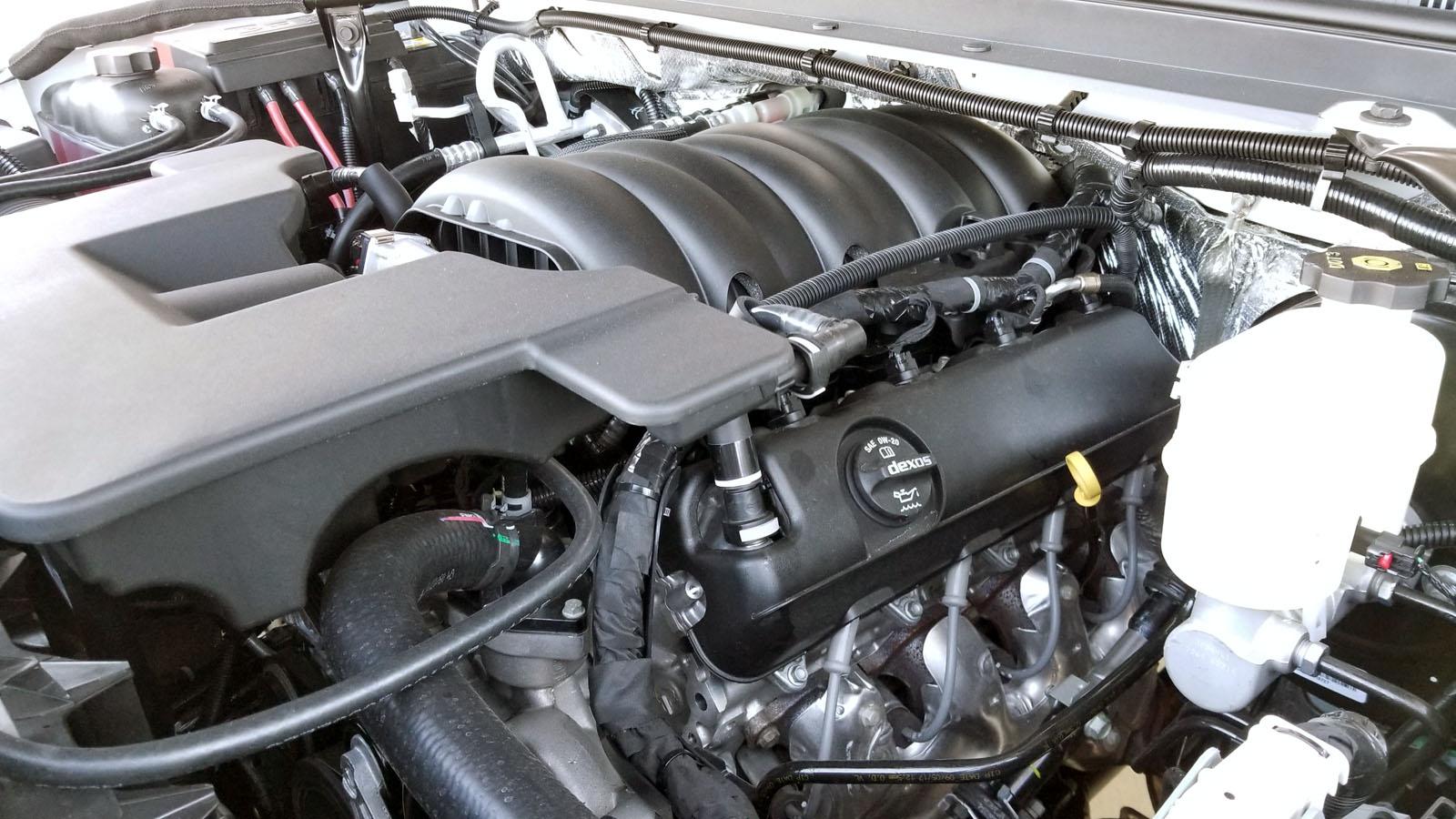 шевроле тахое двигатель
