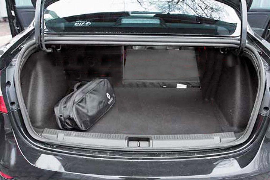 флюенс багажник