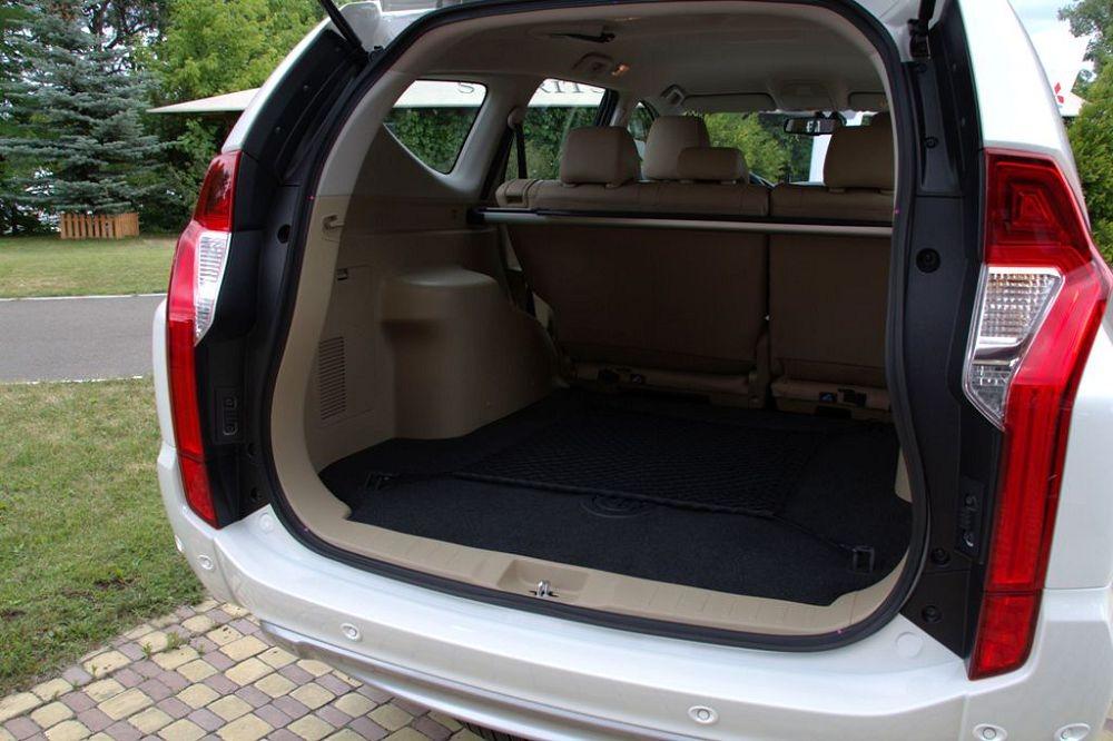 mitsubishi pajero sport багажник