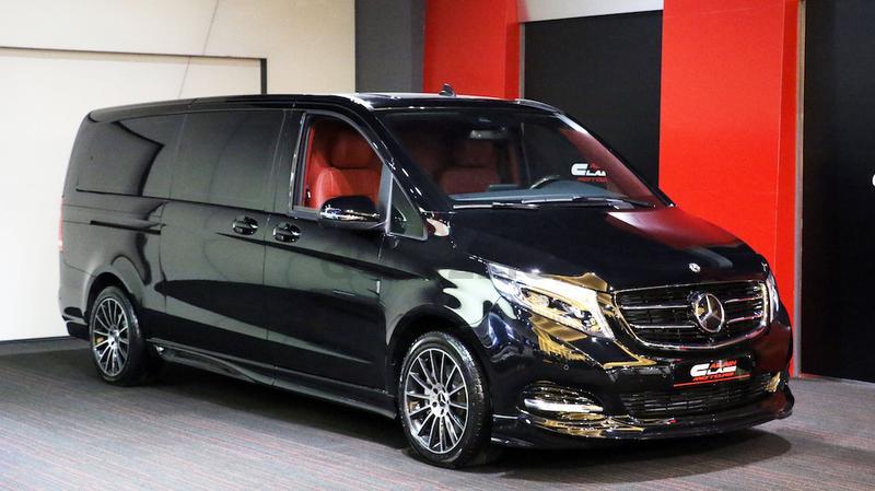 Mercedes-Benz Viano внешний вид