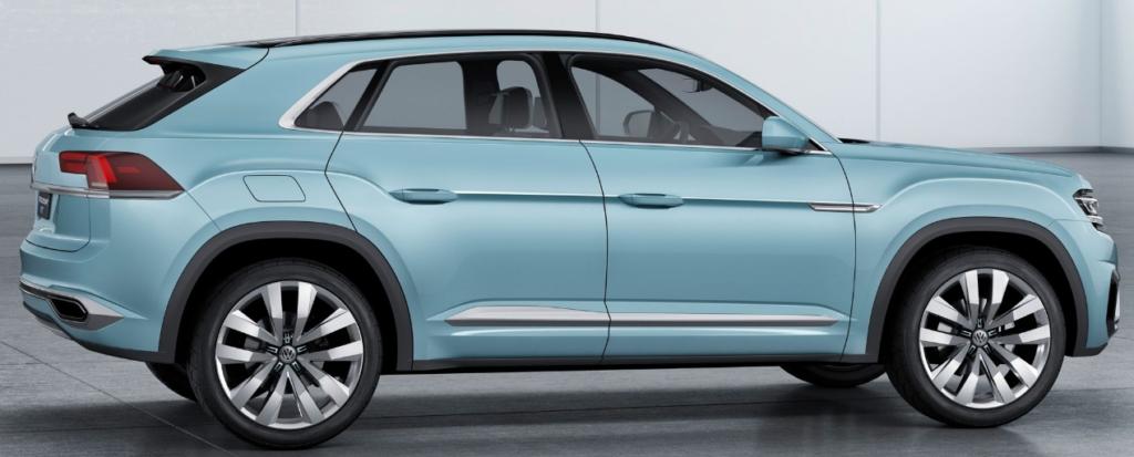Volkswagen Tiguan сбоку