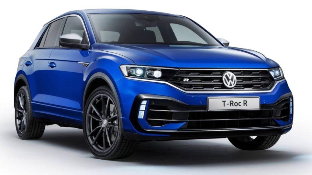 Volkswagen T Roc дизайн