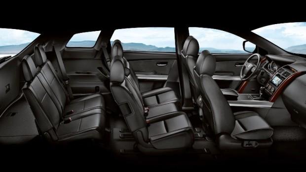 Mazda CX 7 салон