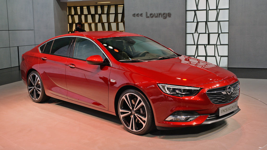 Opel Insignia дизайн