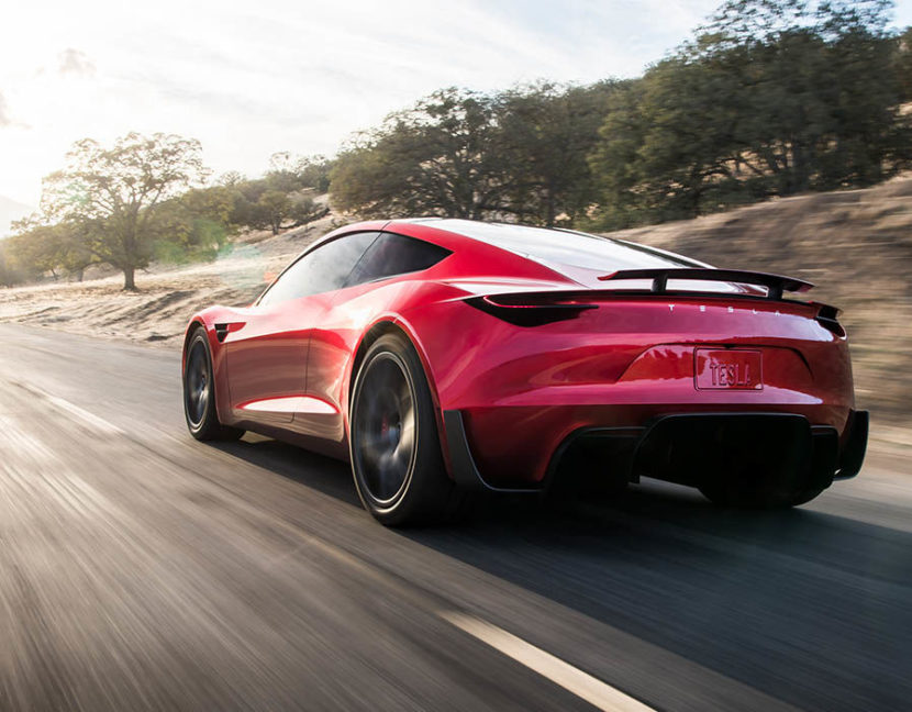 Tesla Roadster 2 экстерьер