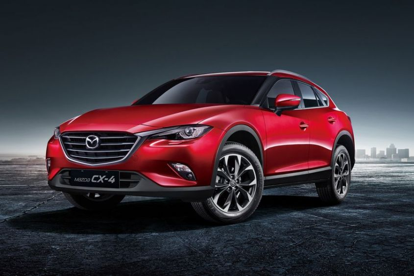 Mazda CX 7 внешний вид