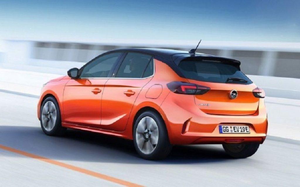 Opel Corsa 2020 дизайн