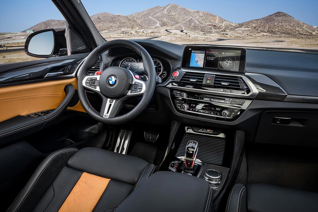 BMW X3 интерьер