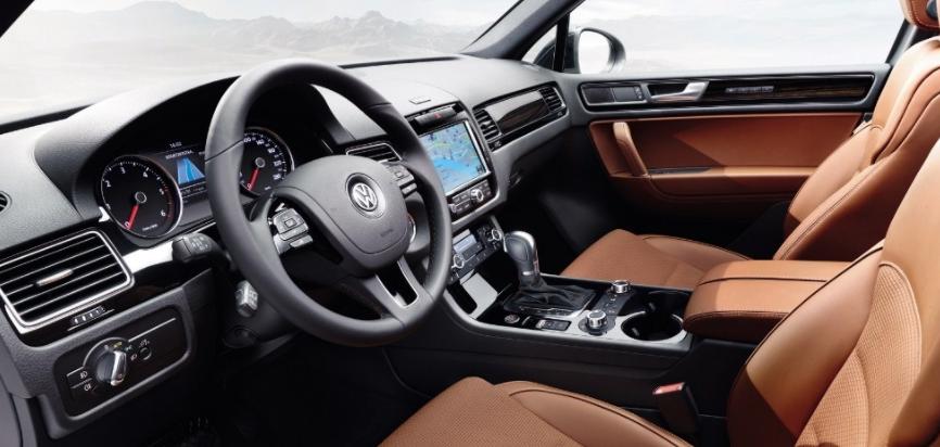 Volkswagen Tiguan интерьер