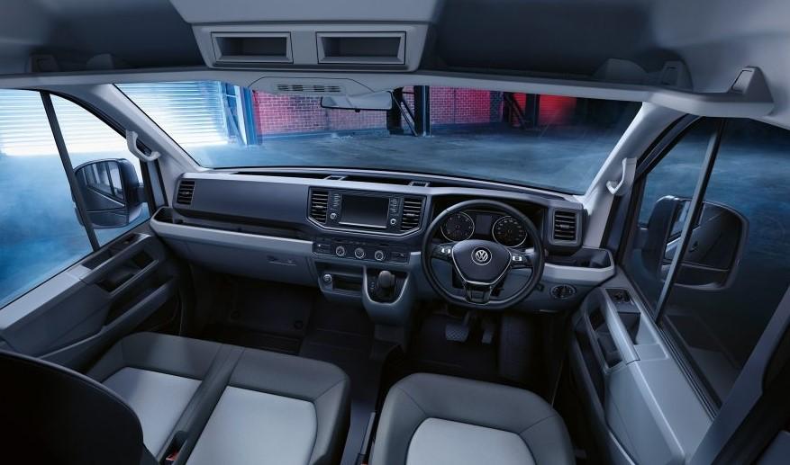 Volkswagen Crafter управление