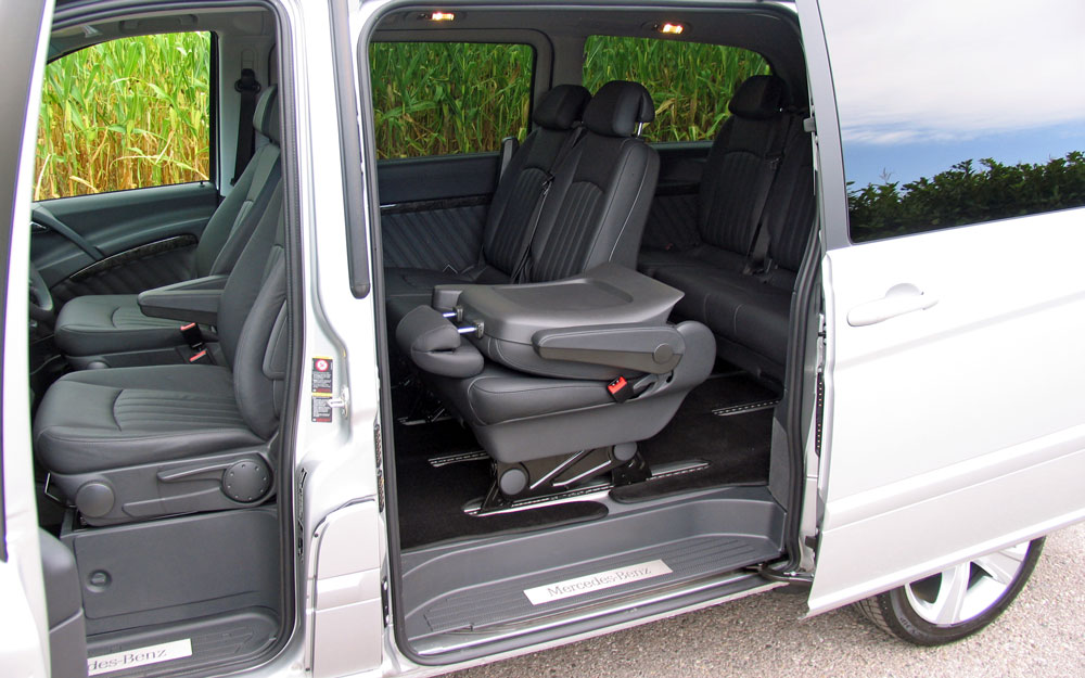 Mercedes-Benz Viano салон