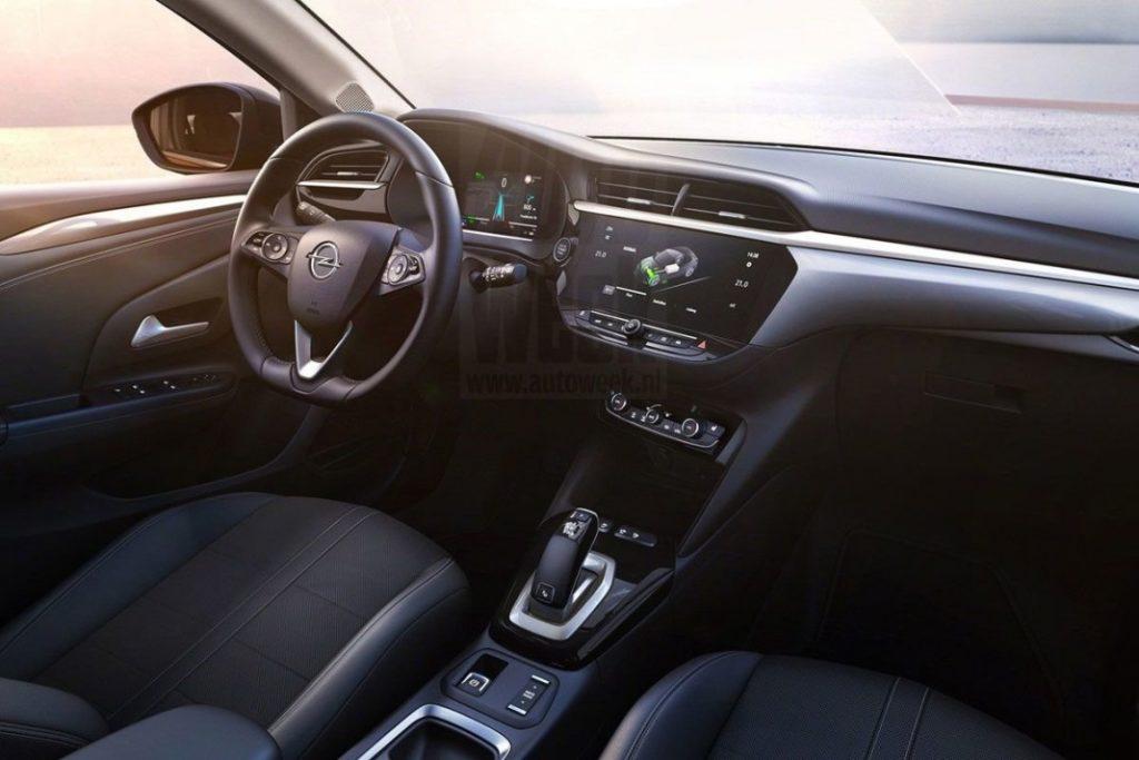 Opel Corsa 2020 интерьер