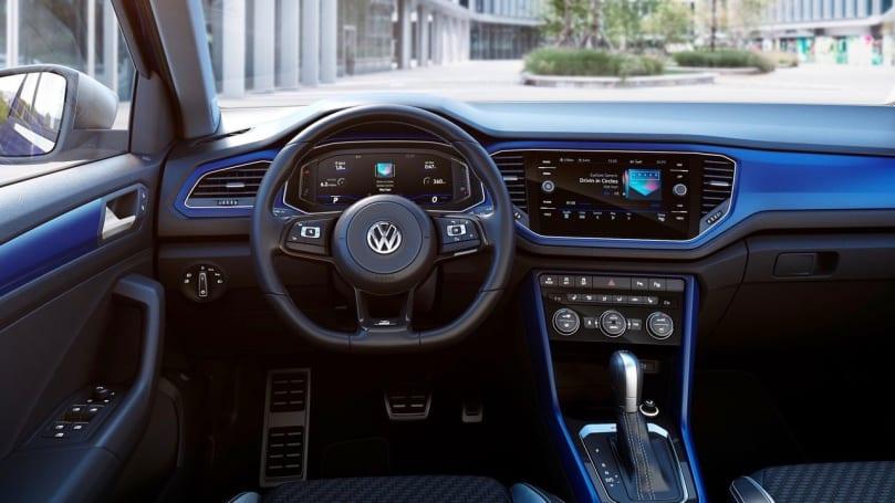 Volkswagen T Roc интерьер