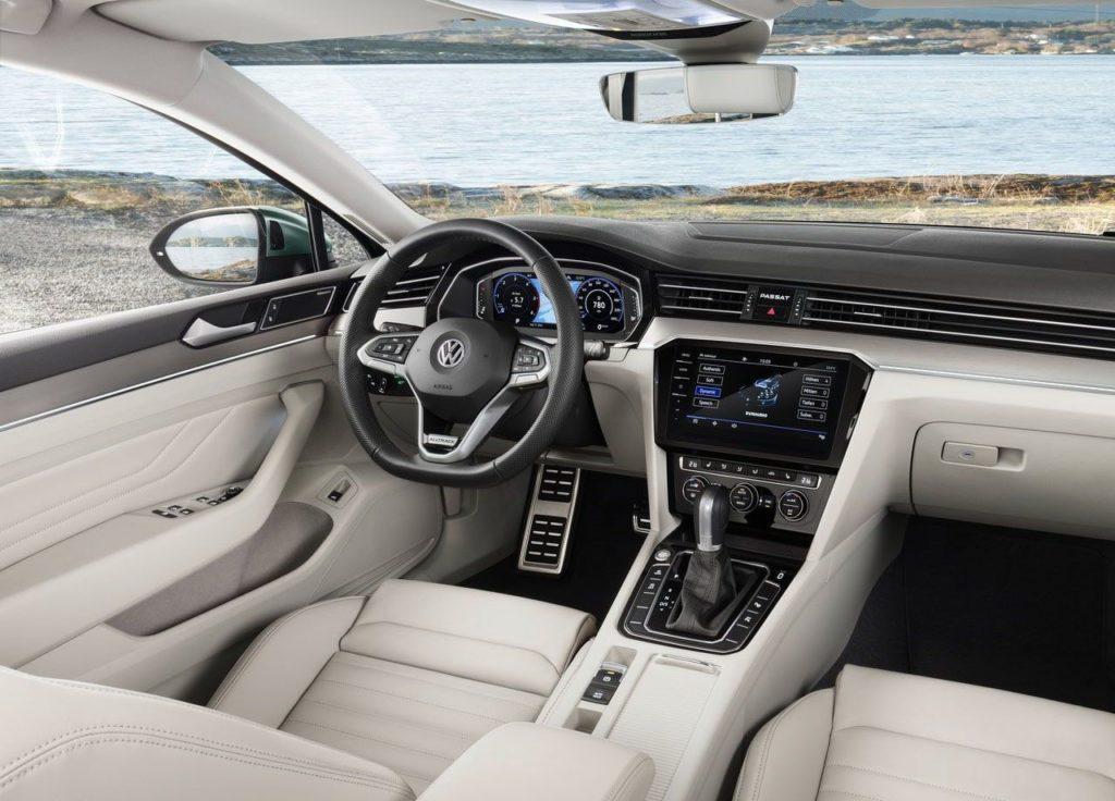 Volkswagen Passat b5 интерьер