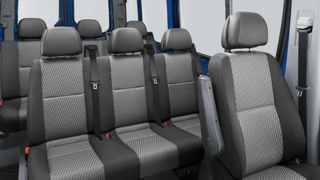 Volkswagen Crafter интерьер